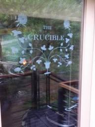 crucible-door